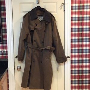 NWT London Fog double breasted trench coat